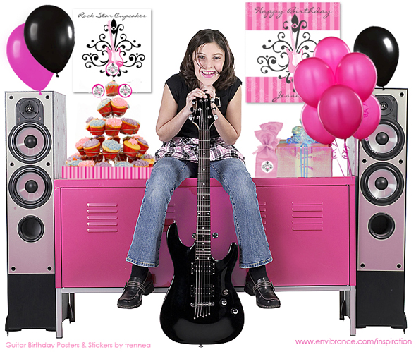 Find more party themes and ideas at our other blog, Sweet Dreamer Designs.